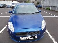 FIAT GRANDE PUNTO 1.4 DYNAMIQUE HATCHBACK 06 REG,, CHEAP TO RUN AND INSURE,, MOT FEBRUARY 2018