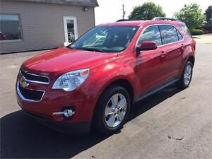 2015 Chevrolet Equinox LT LEATHER SUNROOF MINT ONLY 14KM!!!