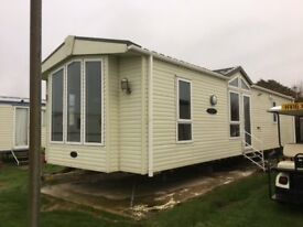 Luxury Pemberton Static Holiday Home 6 berth Open 12 months a Year Free 2018 site fee's included.