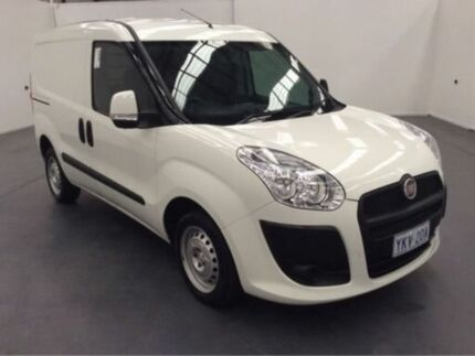 2015 Fiat Doblo 263 SERIES 1 LOW ROOF SWB COMFORT-MATIC White Steptronic Van