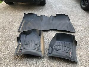 WeatherTech Mats for GMC/Chevy Crew Cab