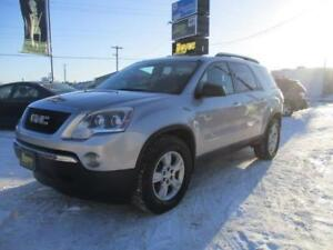 2008 GMC ACADIA SLE AWD, ONLY 120KM, SAFETY AND WARRANTY $12,450