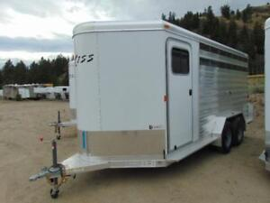2018 Exiss 7X16 Stock Combo w. large dressing room & Sliders