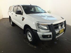 2013 Ford Ranger PX XL 2.2 (4x4) White 6 Speed Automatic Crewcab Clemton Park Canterbury Area Preview