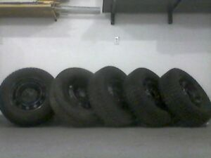 "17"" Winter Tires with Rims (SOLD)"