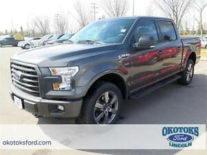 NEW 2017 Ford F-150 XLT 4x4 Supercrew with 5.5ft box