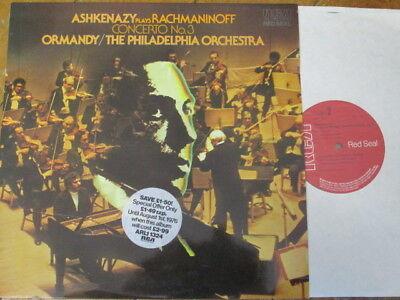 ARL1-1324 Rachmaninov Piano Concerto No. 3 / Ashkenazy / Ormandy / Philadelphia
