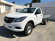 2016 Mazda BT-50 UR0YD1 XT 4x2 Hi-Rider White 6 Speed Sports Automatic Cab Chassis Osborne Park Stirling Area Preview