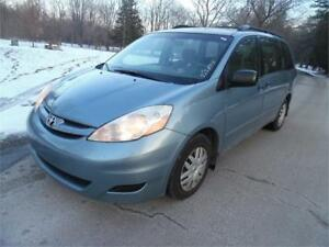 2008 Toyota Sienna CE, Accident Free , Loaded $540.00