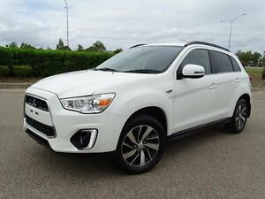 2014 Mitsubishi ASX XB MY15 LS (2WD) White Continuous Variable Wagon Vincent Townsville City Preview
