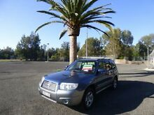 2007 Subaru Forester 79V MY07 X Blue 4 Speed Automatic Wagon Cabramatta Fairfield Area Preview