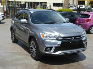 2017 Mitsubishi ASX XC MY18 LS (2WD) Grey Continuous Variable Wagon Brendale Pine Rivers Area Preview