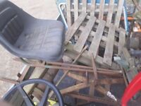 Atco roller seat for atco b24