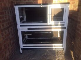 Guinea Pig / Rabbit Hutch, 1 Guinea Pig Cage and many accessories.