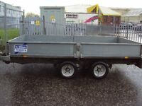 IFOR WILLIAMS 2010 LM126 TRAILER 3.5 TONNE