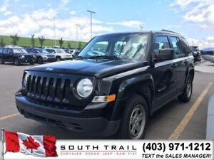 2015 Jeep Patriot Sport Manual 5 Speed, leather, 145 BW O.A.C