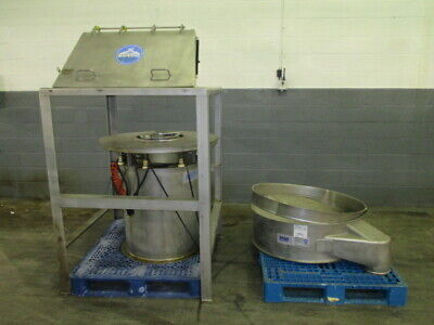 Sweco Bag Dump Station With 40 Screener 3134-2