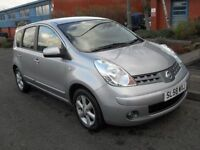 NISSAN NOTE 1.4 ACENTA 5d 88 BHP FULL SERVICE HISTORY (silver) 2008