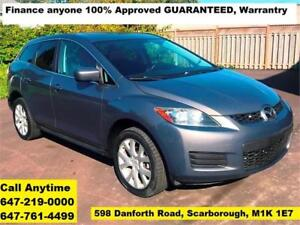 2007 Mazda CX-7 GS SUNROOF FINANCE 100% APPROVED WARRANTY MINT
