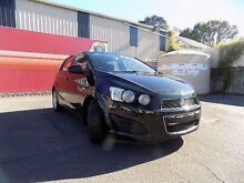 2012 Holden Barina TM MY13 CD Black 6 Speed Automatic Hatchback West Gosford Gosford Area Preview