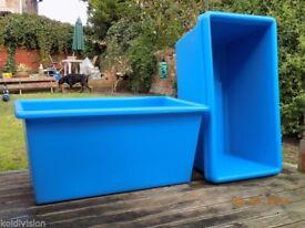 blue koi vat /tank