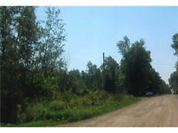 Great treed building lot