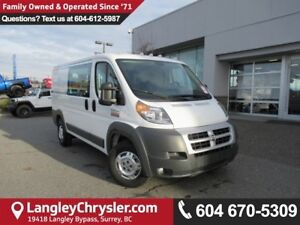 2014 RAM ProMaster 1500 Low Roof <b>*ACCIDENT FREE*BACKUP CAM...