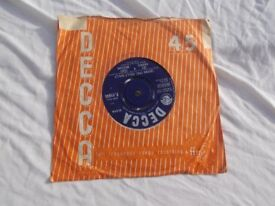 """Vinyl 7"""" 45 Scarlet O'Hara / ( Doing The ) Hully Gully ) – Jet Harris & Tony Meehan"""