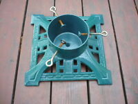 Christmas Tree Stand - Cast Iron, Antique Style