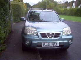 Nissan X Trail SE Plus Petrol Estate 4 wheel Drive with a long MoT and loads of service history