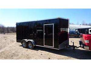 2016  7x16 x85'' high ENCLOSED CARGO TRAILER