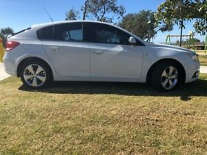 2013 Holden Cruze JH Series II MY14 Equipe White 6 Speed Sports Automatic Hatchback Tugun Gold Coast South Preview