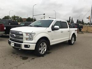 2015 Ford F-150 Platinum Ford My Touch, Camera, Blind Spot Sens