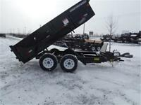 7 X 12 - 10K DUMP TRAILER BY BIG TEX - #1 IN THE INDUSTRY!