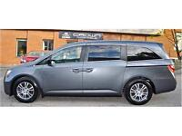 2011 Honda Odyssey EX-L, SUNROOF, LEATHER, DVD, NO ACCIDENT