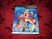 FATE EXTRA LIMITED EDITION PSP NEUF SEALED