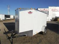 3K – 5 x 10 + Wedge Enclosed Cargo Trailer *TAX IN PRICES*