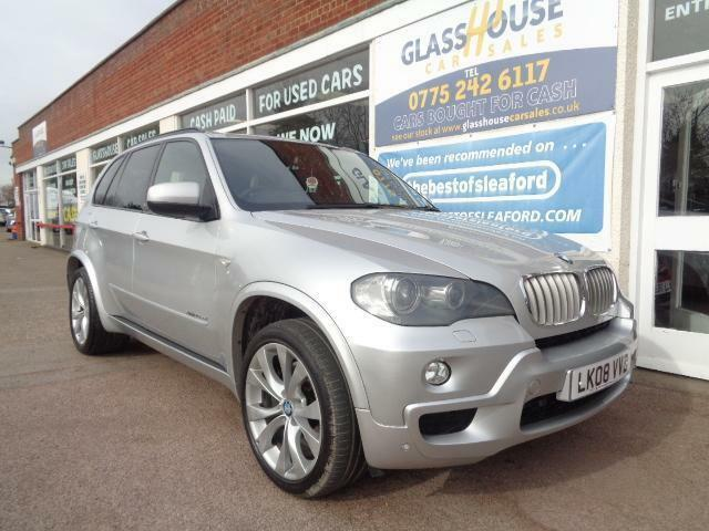 BMW X5 3.0sd auto 2008 M Sport Full S/H £15585 of added extras See Below P/X