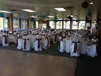 CHAIR COVERS RENTALS - White, Ivory or Brown
