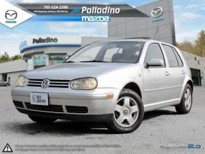 2002 Volkswagen Golf GLS- AS TRADED UNITS- FUN AND EFFICIENT!