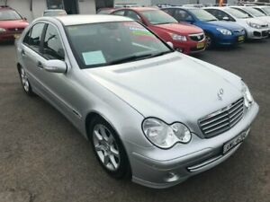 2005 Mercedes-Benz C180 Kompressor W203 MY2005 Classic Silver Automatic Sedan Lansvale Liverpool Area Preview