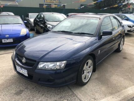 2006 Holden Commodore VZ MY05 Lumina Blue 4 Speed Automatic Sedan Hoppers Crossing Wyndham Area Preview