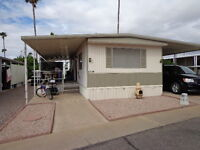 Arizona snowbird mobile home