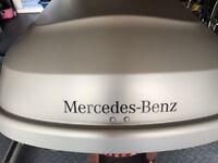 Mercedes benz roof top box