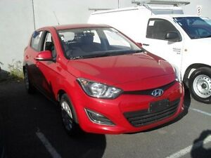 2015 Hyundai i20 PB MY15 Active Burgundy Automatic Hatchback Moorabbin Kingston Area Preview