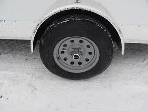 """14' CARGO TRAILER WITH 12"""" EXTRA HEIGHT Prince George British Columbia image 3"""
