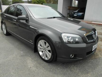 2010 Holden Caprice WM MY10 Grey 6 Speed Auto Active Sequential Sedan Woodville Charles Sturt Area Preview