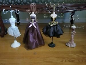 Set of Jewelry Stands