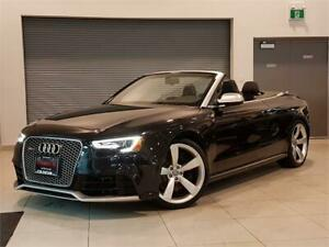 2013 Audi RS5 CONVERTIBLE-AUTO-NAVIGATION-FULLY LOADED-ONLY 39KM