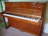 Kawai K2 Upright Piano Walnut millenium carbon action circa 2007 good condition